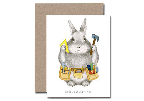 Dear Hancock Happy Father's Day Bunny Card | Room 2046 Toronto Canada