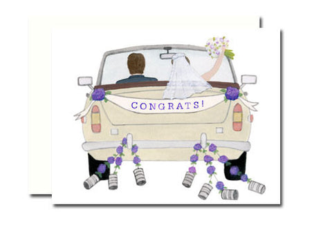 Dear Hancock Congrats Wedding Car Card | Room 2046 Toronto Canada