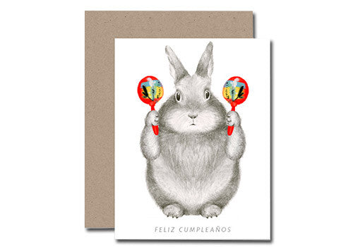 Shop Dear Hancock Feliz Cumpleanos Bunny Birthday Card In Room 2046