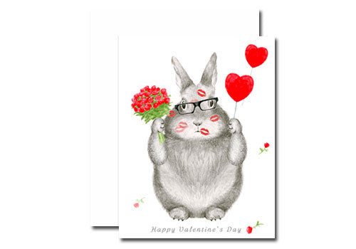 Shop Dear Hancock Valentine S Day Bunny Card In Room 2046 Concept