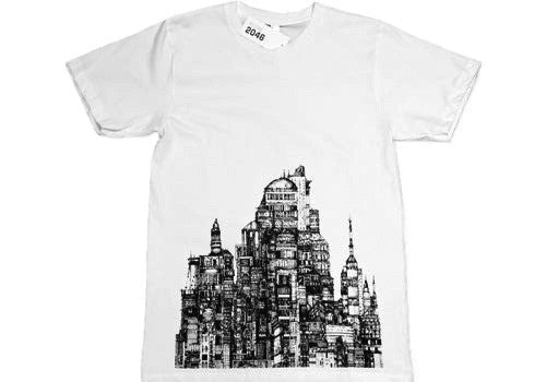 Room 2046 Flo City Monochromatic T-Shirt