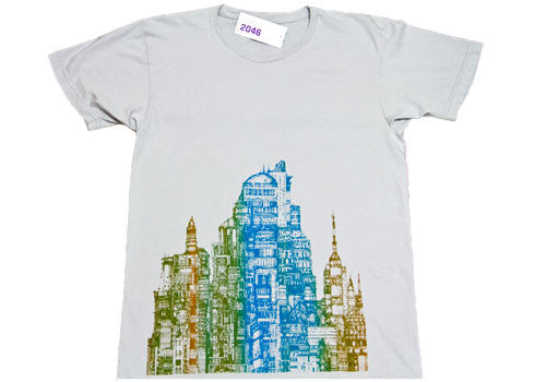 Room 2046 Power Washed Summer Flo City T-Shirt
