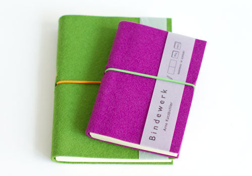 Bindewerk FELT DUET pocket notebook