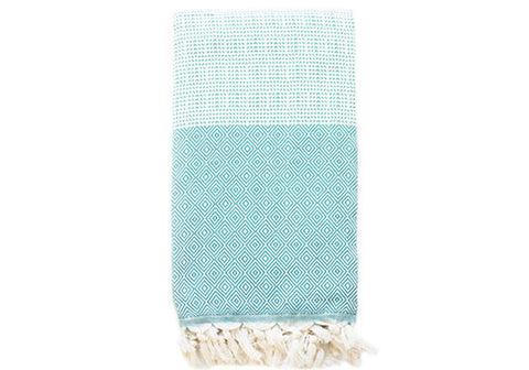 Fine Loom Elmas 450g Cotton Turkish Towel - Biscay Bay | Room 2046 Toronto Canada