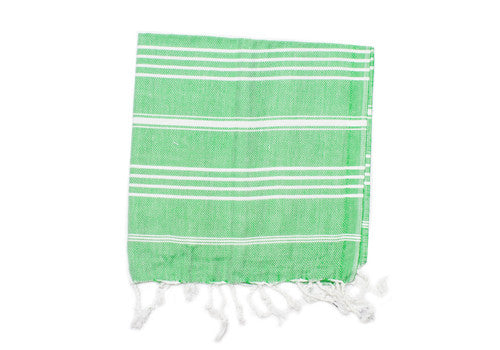 Fine Loom Peshkir 80g Cotton Turkish Hand Towel - Spring Green | Room 2046 Toronto Canada