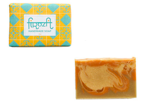 Firoza Green Tea Citrus Handmade Soap | Room 2046 Toronto Canada