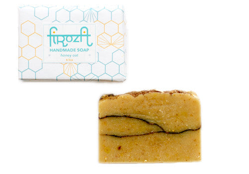 Firoza Honey Oat Handmade Soap | Room 2046 Toronto Canada