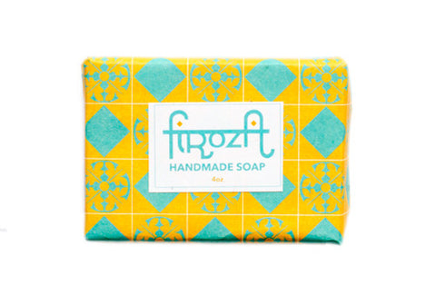 Firoza Holiday Peppermint Handmade Soap | Room 2046 Toronto Canada