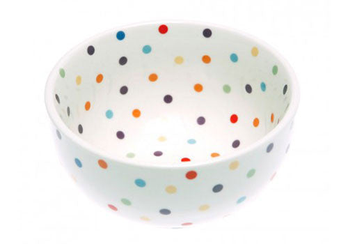 Fishs Eddy Polka Dot Cereal Bowl | Room 2046 Toronto Canada