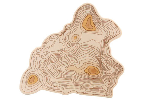 Fishs Eddy Topography Ceramic Cheese Tray | Room 2046 Toronto Canada
