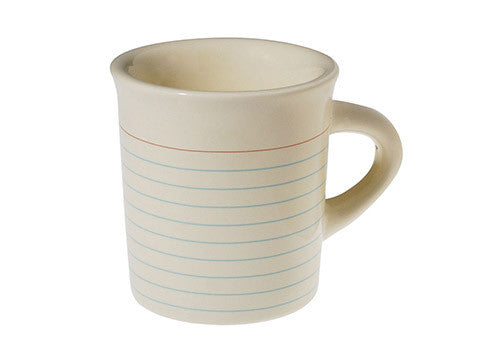 Fishs Eddy Memo Notebook Mug | Room 2046 Toronto Canada
