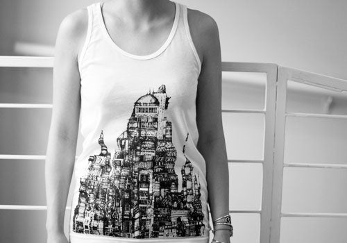 Room 2046 Flo City Monochromatic Tank