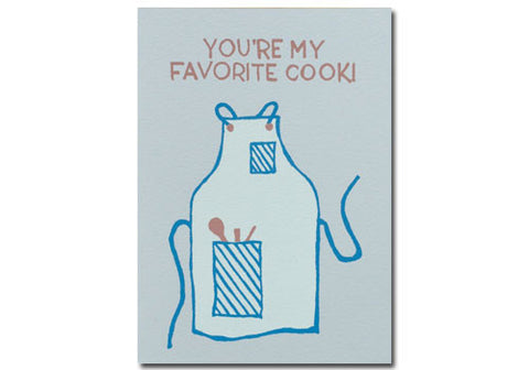 Gold Teeth Brooklyn Favorite Cook Screenprinted Card | Room 2046 Toronto Canada