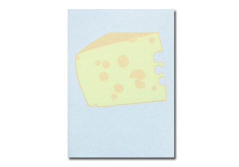 Gold Teeth Brooklyn Swiss Cheese Screenprinted Card | Room 2046 Toronto Canada