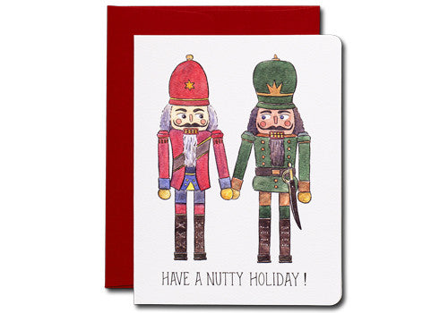 Gotamago Nutty Nutcracker Holiday Greeting Card | Room 2046 Toronto Canada