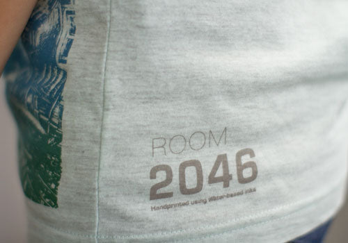 Room 2046 K Vela Mint Metallic Tank