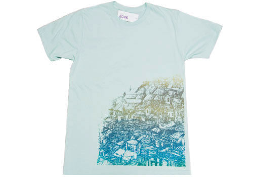 Room 2046 K Vela Mint Metallic T-Shirt