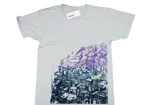 Room 2046 Power Washed K Vela Purple Blend T-Shirt