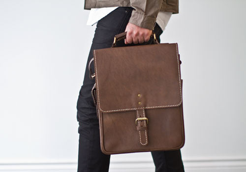 Kias Leather Briefcase