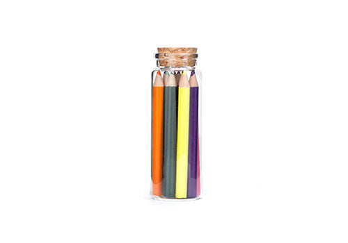 Kikkerland Colored Pencils in Glass Jar | Room 2046 Toronto Canada