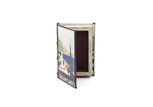 Kikkerland Italian Lakes Small Book Box | Room 2046 Toronto Canada