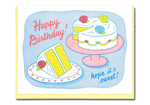 Lucky Horse Press Sweet Birthday Hope Greeting Card | Room 2046 Toronto Canada