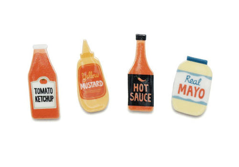 Lucky Horse Press Condiment Magnet Set | Room 2046 Toronto Canada