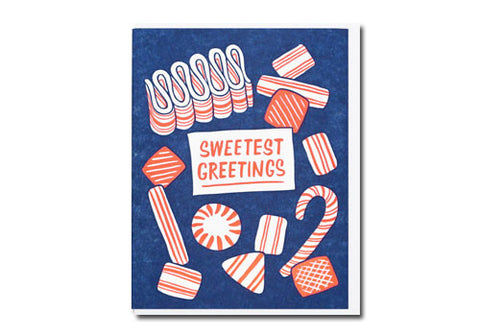Lucky Horse Press Sweetest Greetings Candy Card | Room 2046 Toronto Canada