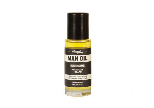 Mayron's Goods Man Beard Oil - Black Malt | Room 2046 Toronto Canada