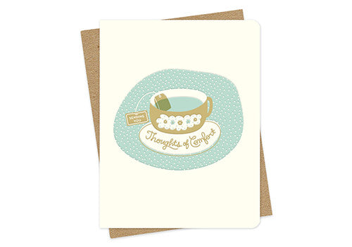 Night Owl Paper Goods Thoughts of Comfort Sympathy Card | Room 2046 Toronto Canada
