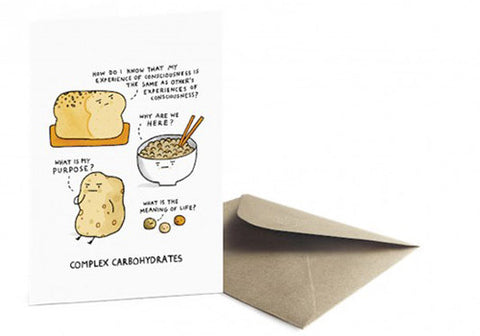 Ohh Deer Complex Carbohydrates Greeting Card | Room 2046 Toronto