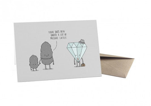 Ohh Deer Diamond Under Pressure Father's Day Card | Room 2046 Toronto Canada