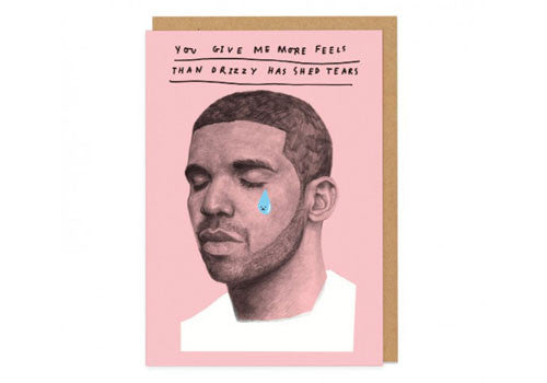 Ohh Deer Drizzy Greeting Card | Room 2046 Toronto Canada