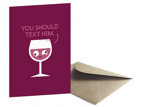 Ohh Deer You Should Text Him Card | Room 2046 Toronto