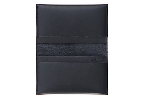 Leather Card Holder - Black | Room 2046 Toronto Canada