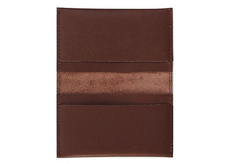 Leather Card Holder - Brown | Room 2046 Toronto Canada