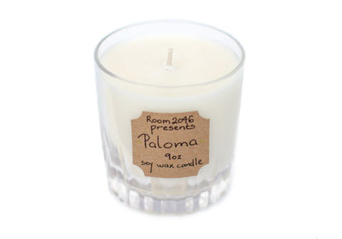 Paloma Cocktail Soy Candle by Room 2046 | Room 2046 Toronto Canada