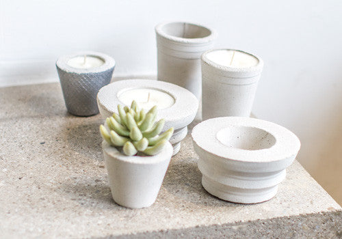 Room 2046 Rotunda Concrete Planter - Unpainted | Room 2046 Toronto Canada