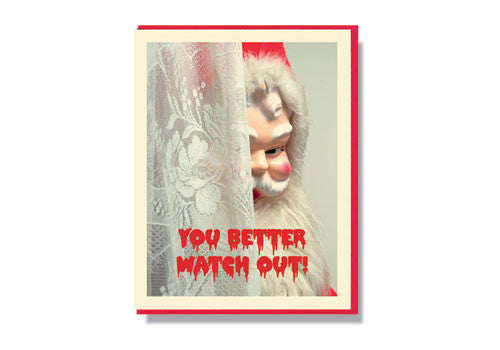 Smitten Kitten Creepy Santa - Better Watch Out | Room 2046 Toronto Canada