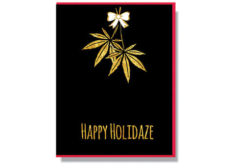 Smitten Kitten Happy Holidaze Holiday Card | Room 2046 Toronto Canada