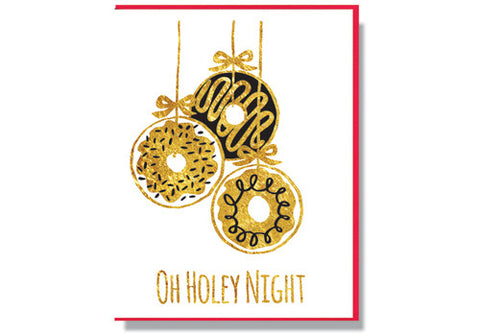 Smitten Kitten Oh Holey Night Holiday Card | Room 2046 Toronto Canada