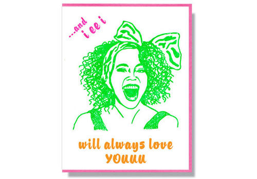 Smitten Kitten RIP Card - Whitney Houston | Room 2046 Toronto Canada