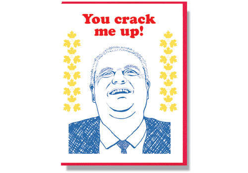 Smitten Kitten RIP Card - Rob Ford | Room 2046 Toronto Canada
