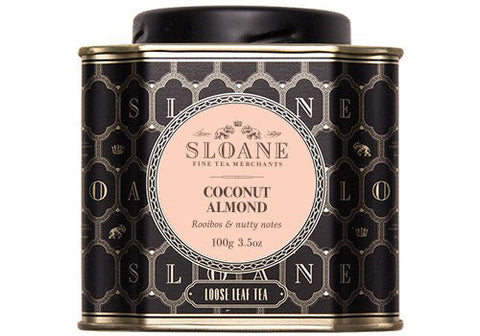Sloane Tea Coconut Almond Rooibos Loose Leaf Tea | Room 2046 Toronto Canada