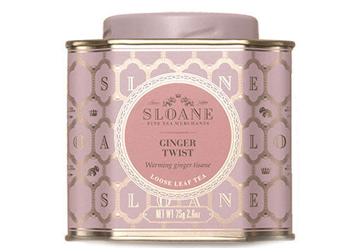 Sloane Tea Ginger Twist Loose Leaf Tea | Room 2046 Toronto Canada