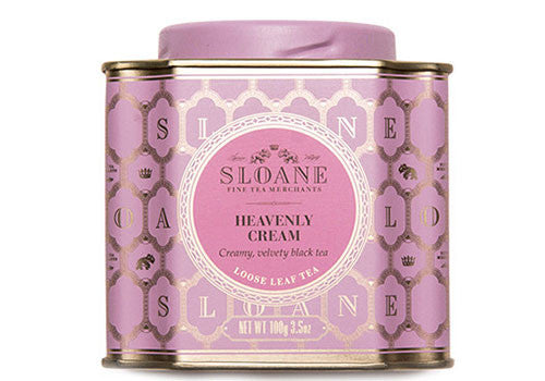 Sloane Tea Heavenly Cream Black Loose Leaf Tea | Room 2046 Toronto Canada