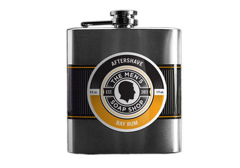 The Men's Soap Bay Rum Aftershave in a Flask | Room 2046 Toronto Canada