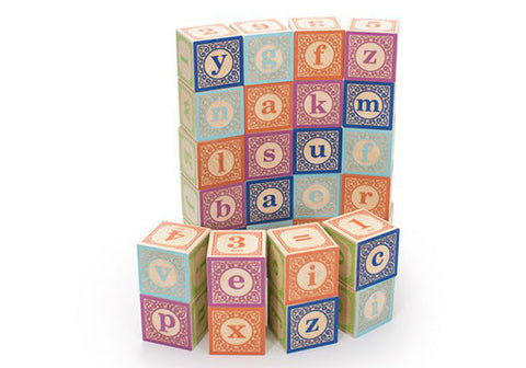 Uncle Goose Classic Lower Case ABC Wooden Blocks | Room 2046 Toronto Canada