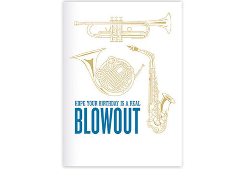 Waterknot Birthday Blowout Card