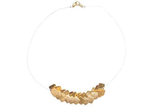 dos riberas ESPIGA Gold Necklace | Room 2046 Toronto Canada